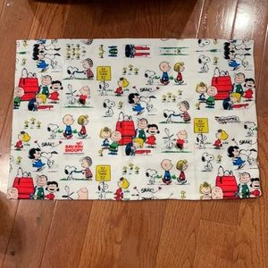 New Peanuts side zip pillow case and stickers